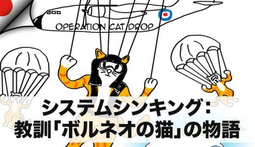 システムシンキング:教訓「ボルネオの猫」の物語