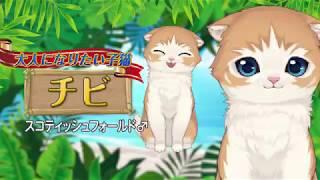 猫と島で暮らすパズルゲーム「ねこ島日記」 猫紹介PV